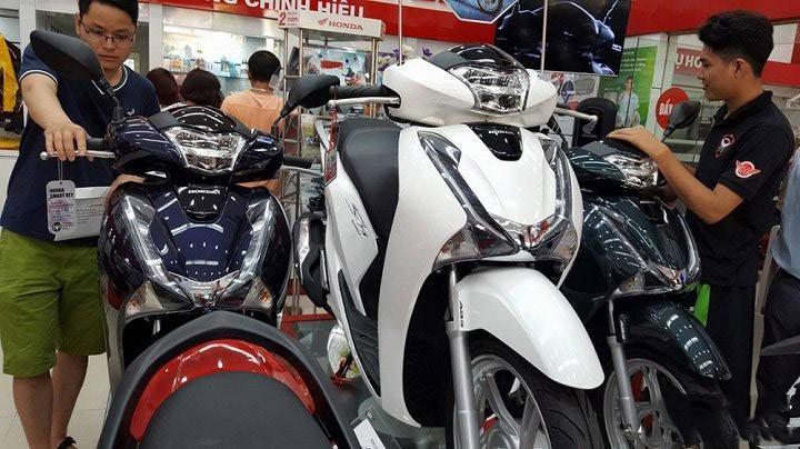 Honda SH là mẫu xe bị làm giá mạnh nhất hiện tại