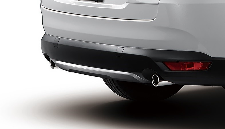 Mazda CX-8 Custom Style 2019 có tấm ốp gầm trước/sau