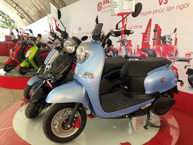 Một số xe máy điện mang mác Honda đã được bán tại thị trường Việt Nam