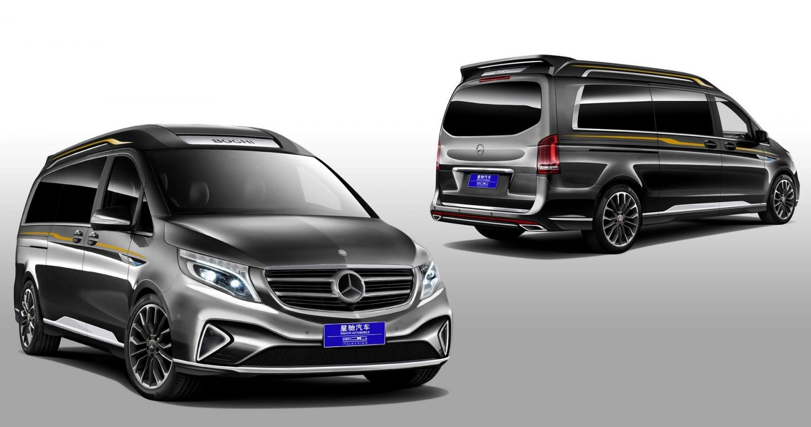 Mercedes-Benz V260L phiên bản độ của Italdesign