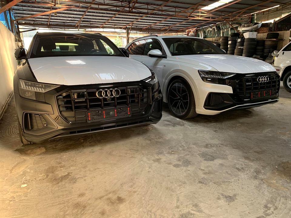 SUV hạng sang Audi Q8 2019 người Việt vẫn chờ dài mỏ đã có xe bày bán tại Campuchia