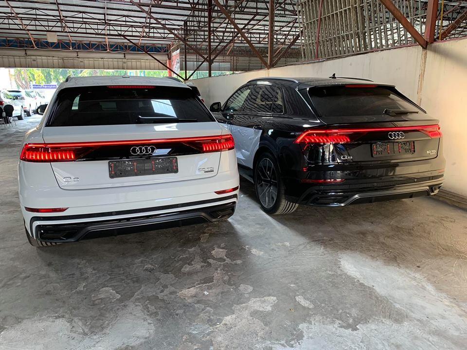 Đèn hậu đầy ma mị trên Audi Q8 2019
