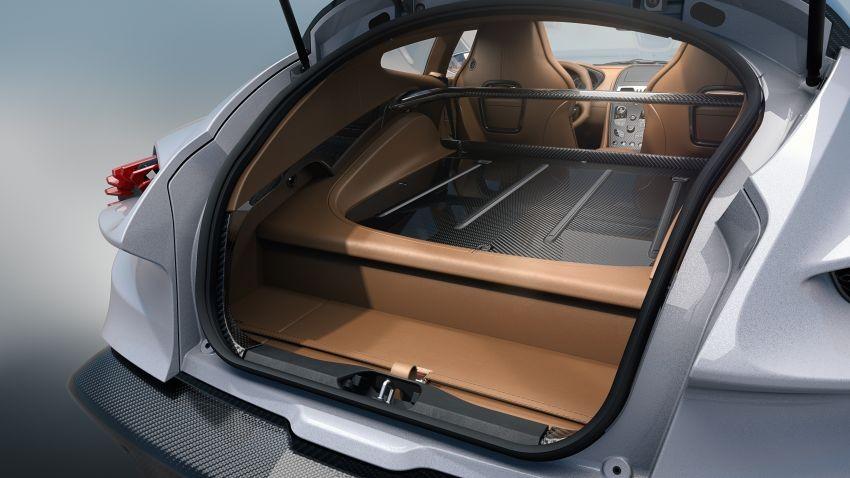 Khoang hành lý của Aston Martin Vanquish Zagato Shooting Brake