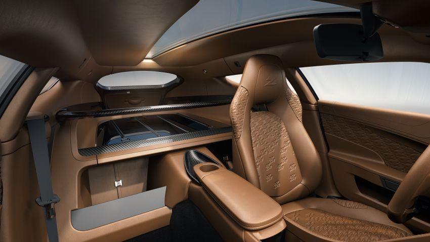Nội thất bên trong Aston Martin Vanquish Zagato Shooting Brake