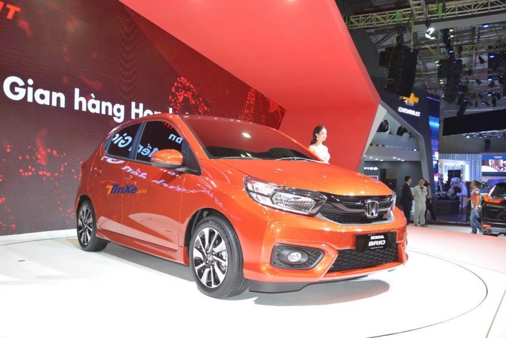 Honda Brio thế hệ mới có giá tạm tính từ 330 triệu đồng tại Việt Nam