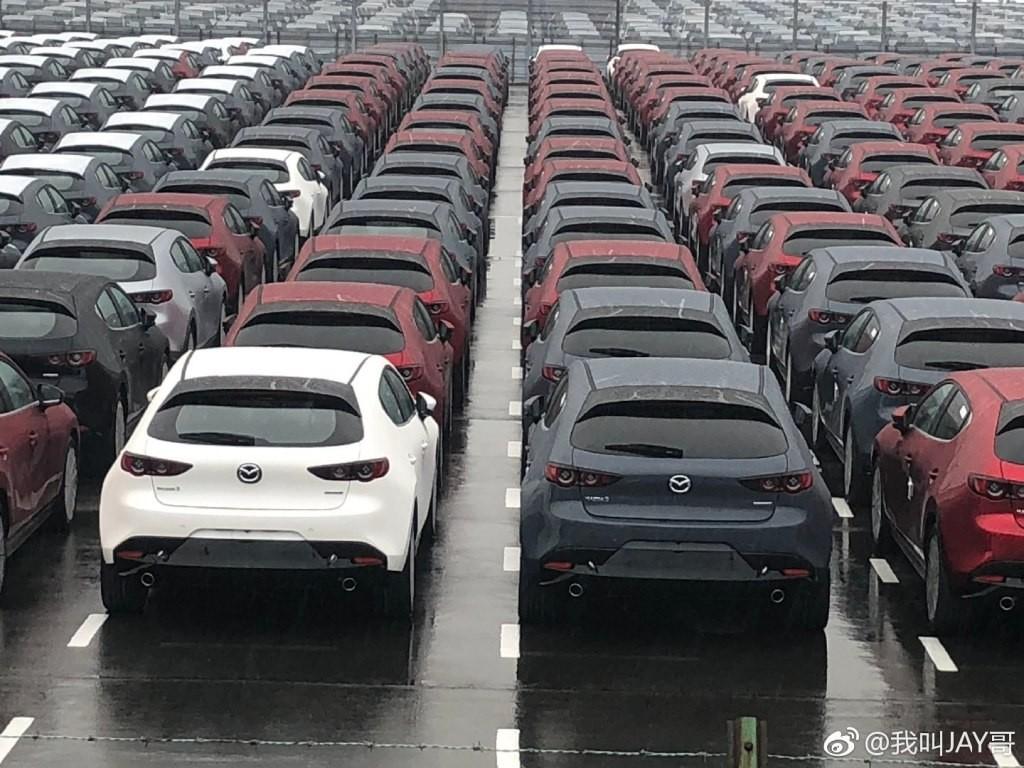 Có vẻ như Mazda3 2019 đã lặng lẽ được đưa lên dây chuyền sản xuất thương mại