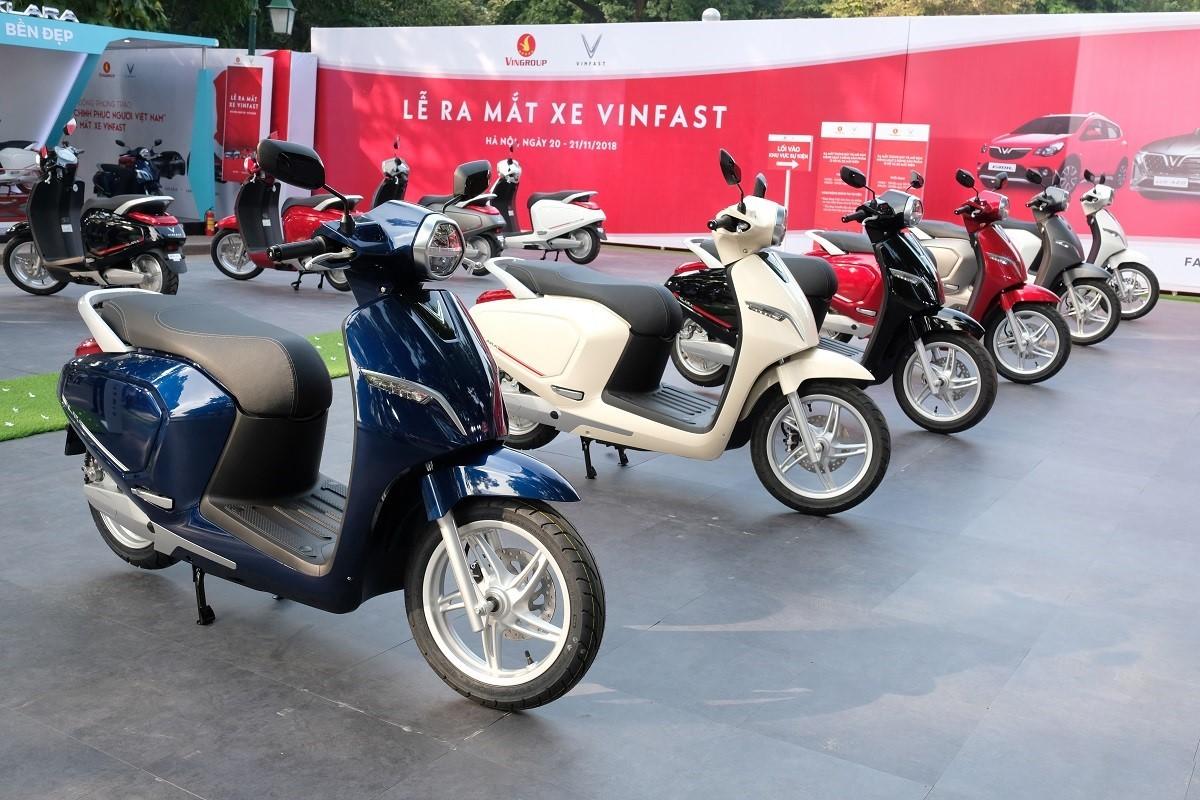 Lộ trình điều chỉnh giá 3 Không cho xe máy điện và ô tô VinFast trong năm 2019