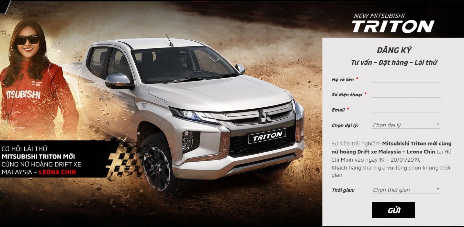 Mitsubishi Việt Nam sẽ tổ chức sự kiện lái thử Triton 2019 tại Tp. Hồ Chí Minh vào tháng sau