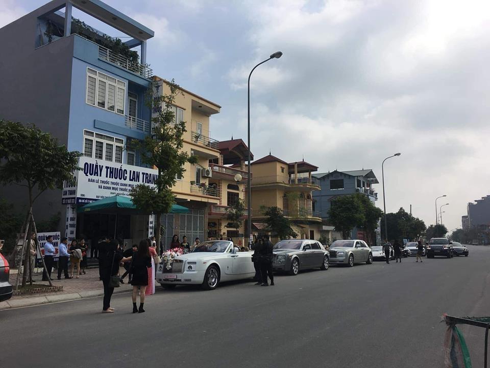 Đám cưới siêu xa xỉ tại Hà Nội với dàn Rolls-Royce Phantom và siêu xe Lamborghini gần 130 tỷ đồng