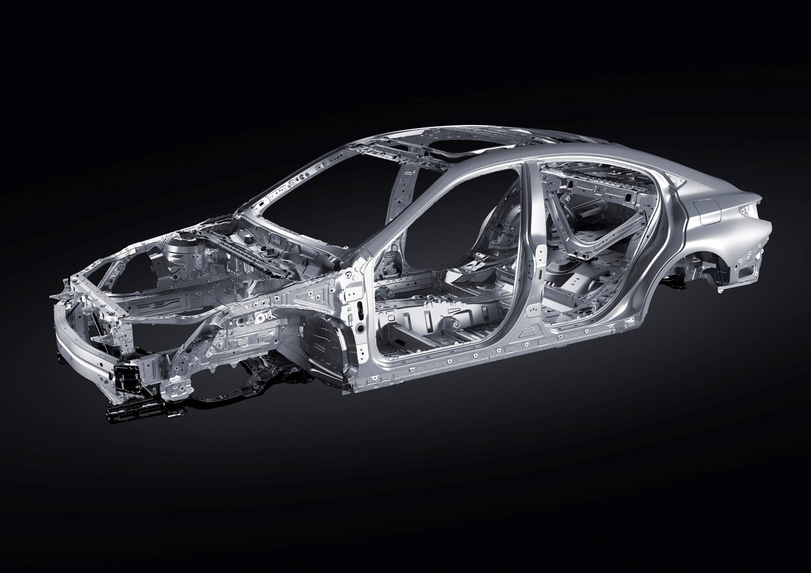 Xe được phát triển dựa trên nên tảng kiến trục toàn cầu K (GA-K) hoàn toàn mới