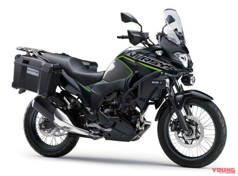 Kawasaki Versys-X 250 phiên bản 2019 với màu mới