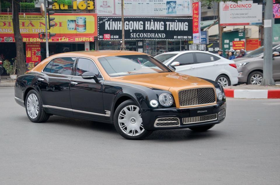Bentley Mulsanne thế hệ mới xông đất tại Việt Nam trong năm 2018 là thuộc bản tiêu chuẩn và được đưa về nước vào cuối tháng 1