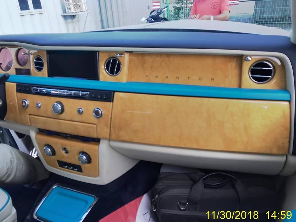 Nội thất chiếc Rolls-Royce Phantom Series II Hadar