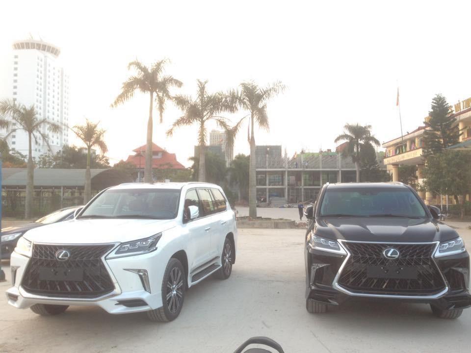 Lexus LX570 Super Sport 2018 rất được lòng các đại gia Việt trong năm 2018