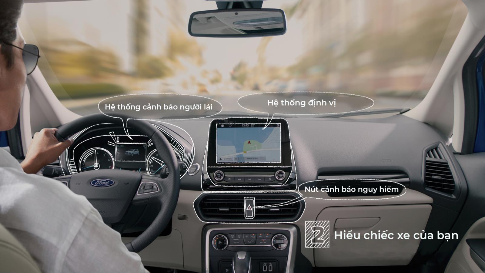 Mỗi chiếc xe sẽ có những trang bị, thiết kế khác nhau. Nên hiểu chiếc xe để không bị bỡ ngỡ.
