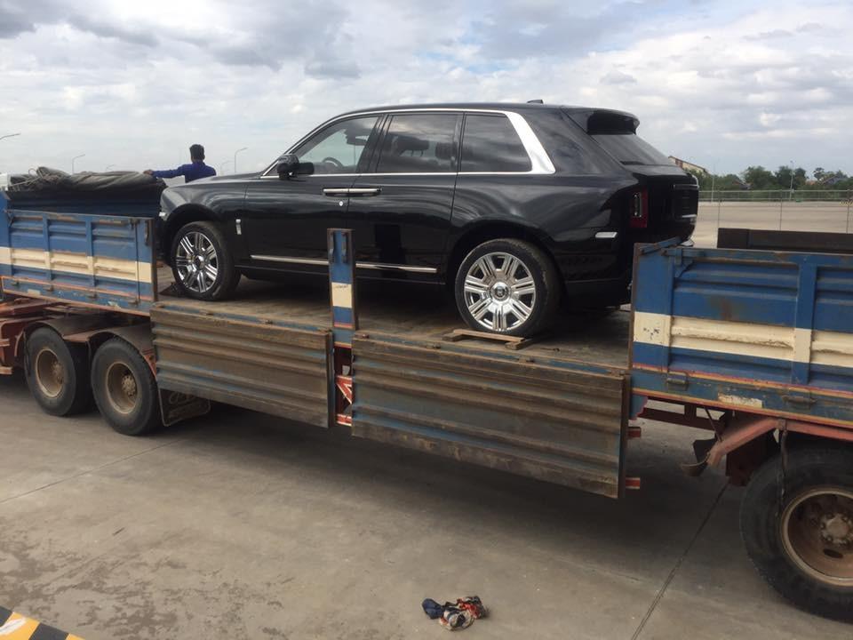 Rolls-Royce Cullinan tại Campuchia