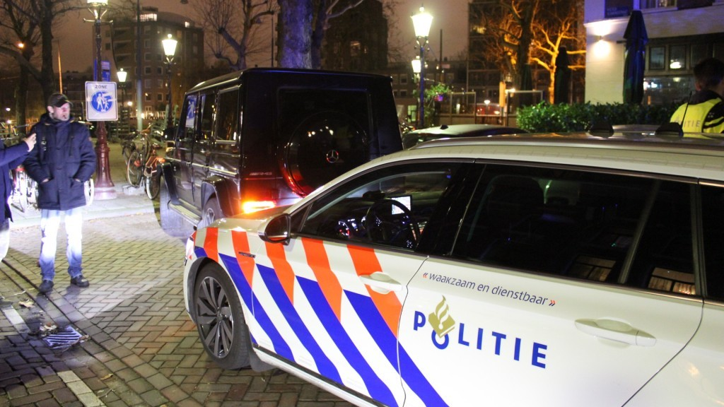 Chiếc Mercedes-AMG G63 đã gây ra một cuộc rượt đuổi với cảnh sát