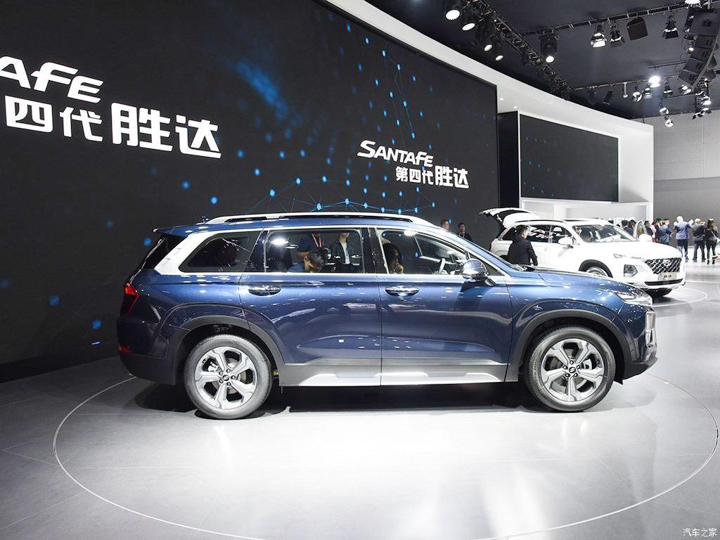 Hyundai Santa Fe 2019 phiên bản Trung Quốc dài hơn xe ở những thị trường khác