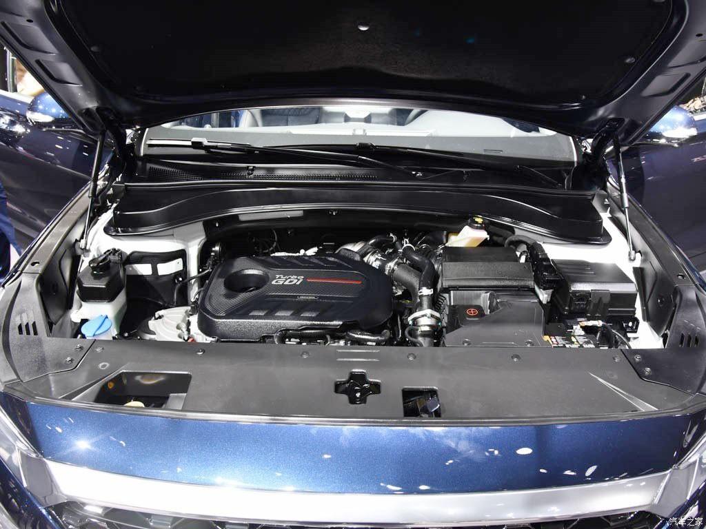 Động cơ xăng tăng áp của Hyundai Santa Fe 2019 phiên bản Trung Quốc