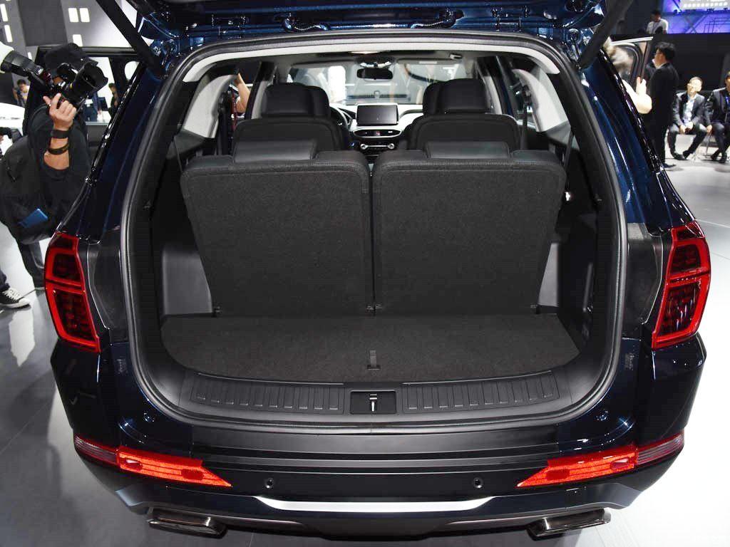Khoang hành lý của Hyundai Santa Fe 2019 phiên bản Trung Quốc