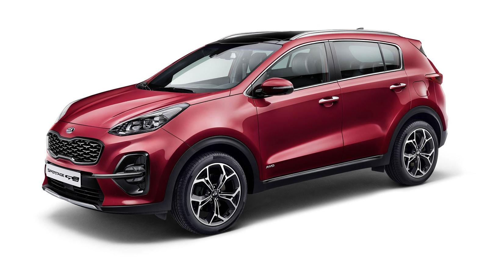 Sportage là mẫu xe bán chạy nhất của thương hiệu Kia trong năm 2018