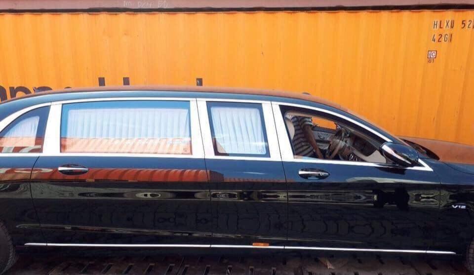 Mercedes-Maybach S600 Pullman có chiều dài lên đến 6,4m