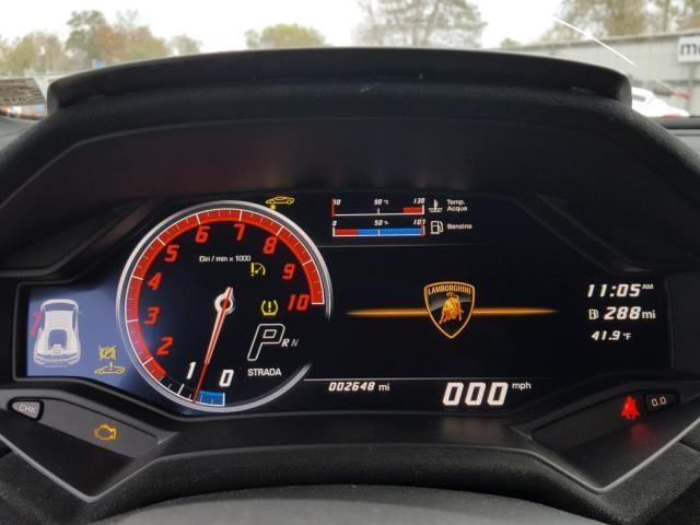 Lamborghini Huracan Performante đang rao bán chỉ mới lăn bánh được quãng đường dài 2.648 miles, tương đương 4.261 km
