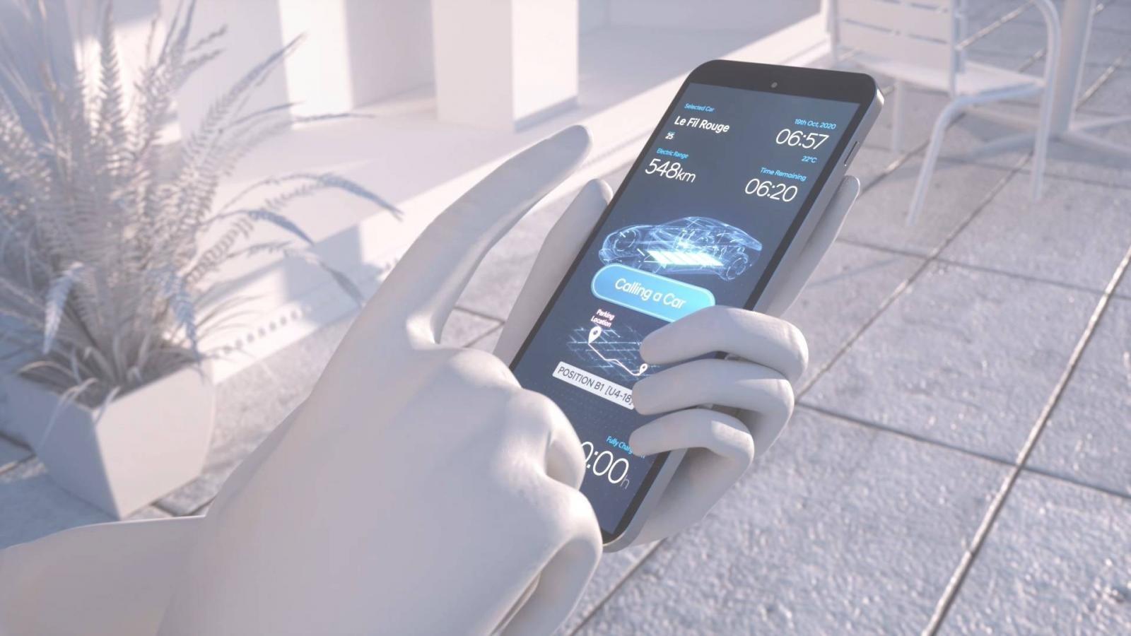 Người sử dụng có thể kiểm soát mọi thứ thông qua ứng dụng điện thoại