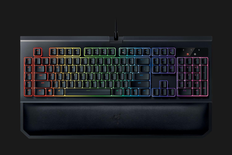 Hiệu ứng ánh sáng Chroma đẹp mắt trên bàn phím chơi game Razer