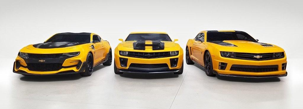 3 trong 4 chiếc xe Chevrolet Camaro sẽ được đấu giá vào cuối tháng này