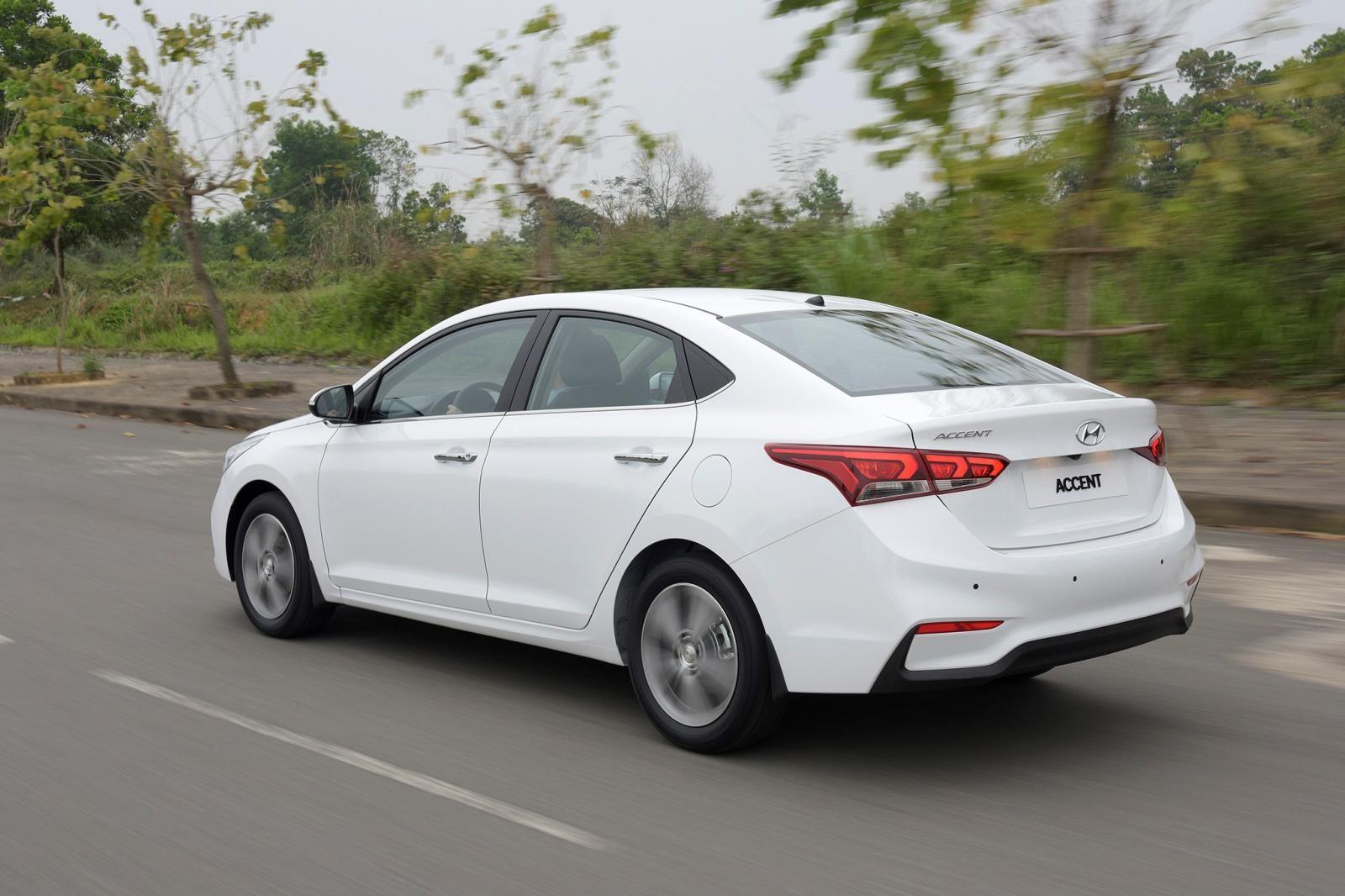 Hyundai Accent tiếp tục là mẫu xe có doanh số dẫn đầu của HTC