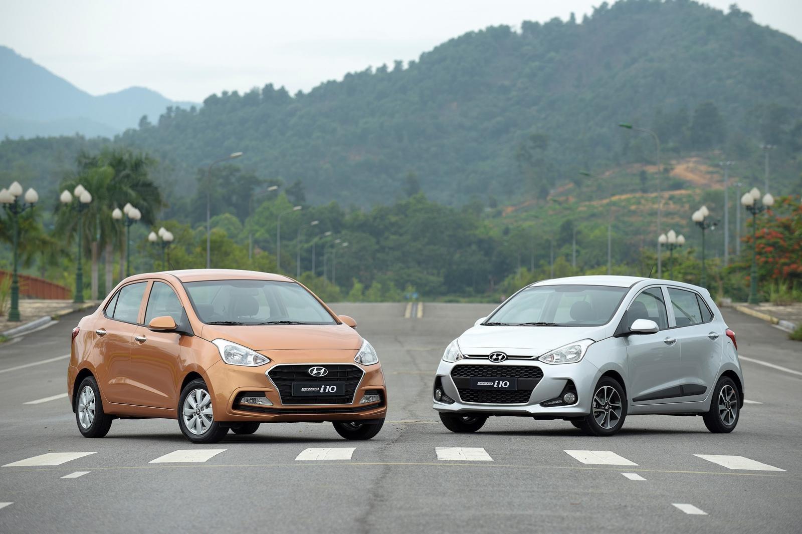 Hyundai Grand i10 bán được 22.068 xe trong năm 2018 nhưng vẫn thiếu 1 chút so với Toyota Vios