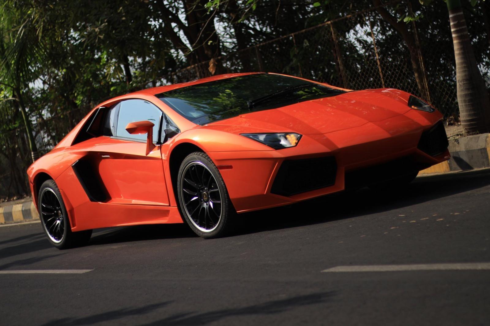 Nhìn thoáng qua, có lẽ ai cũng nghĩ đây là một chiếc Lamborghini Aventador xịn