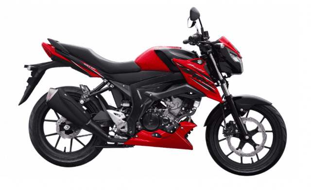 Black and red version of Bandit 150