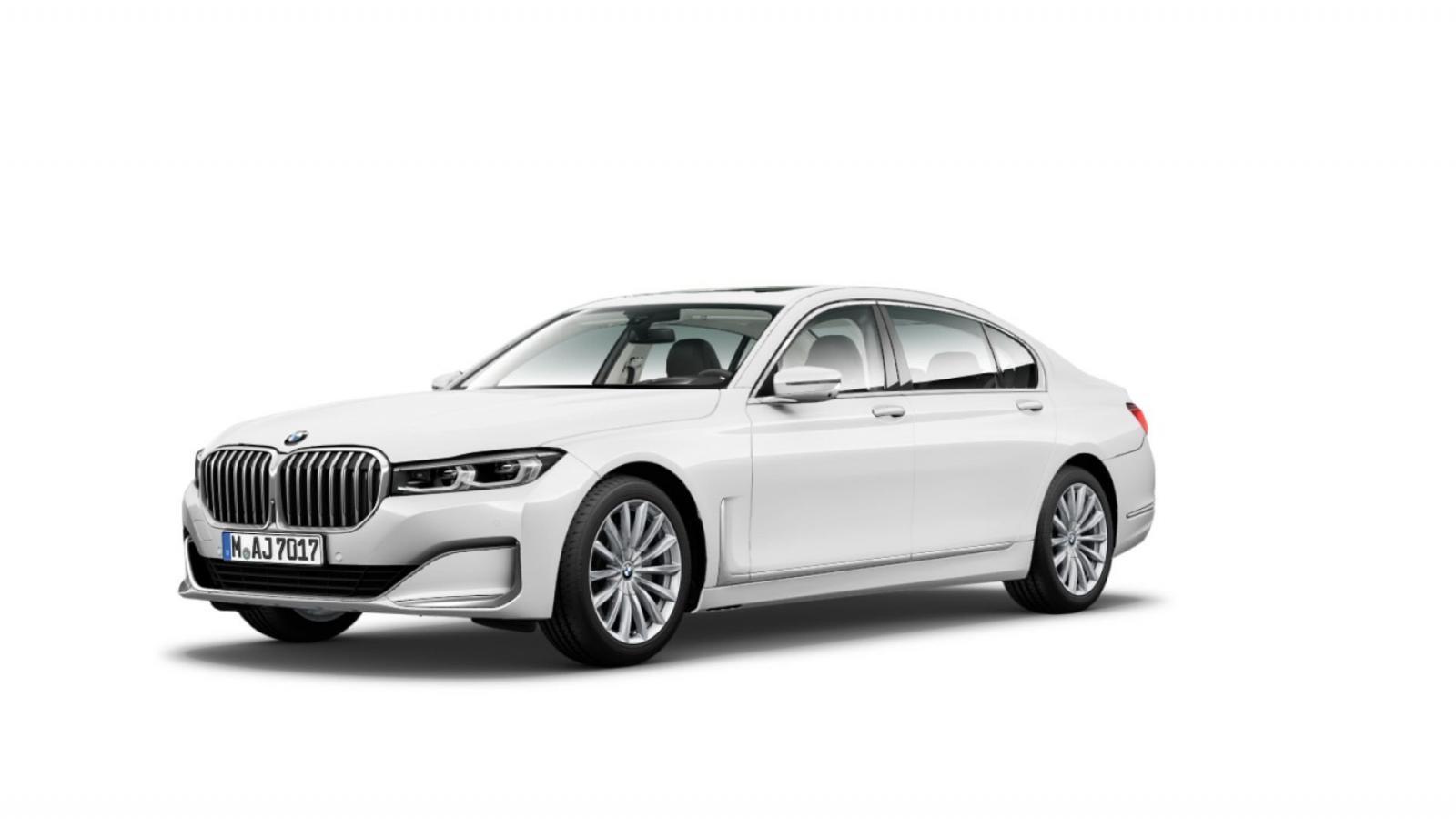 Hình ảnh trong cấu hình trực tuyến của BMW 7-Series thế hệ mới