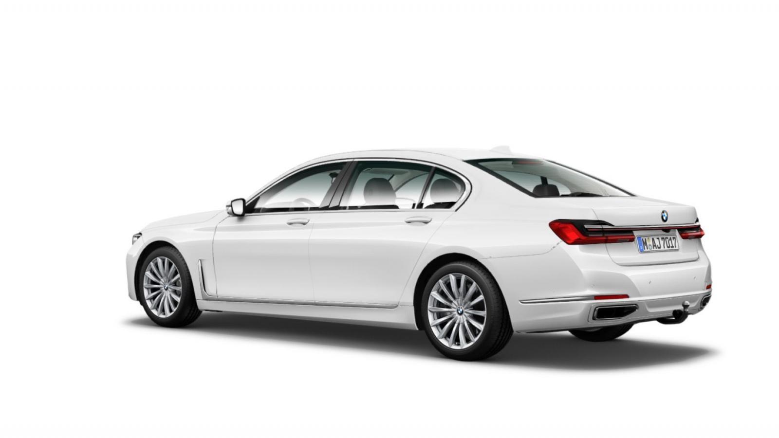 BMW 7-Series 2020 có nhiều kiểu ống xả khác nhau, tùy từng cấu hình