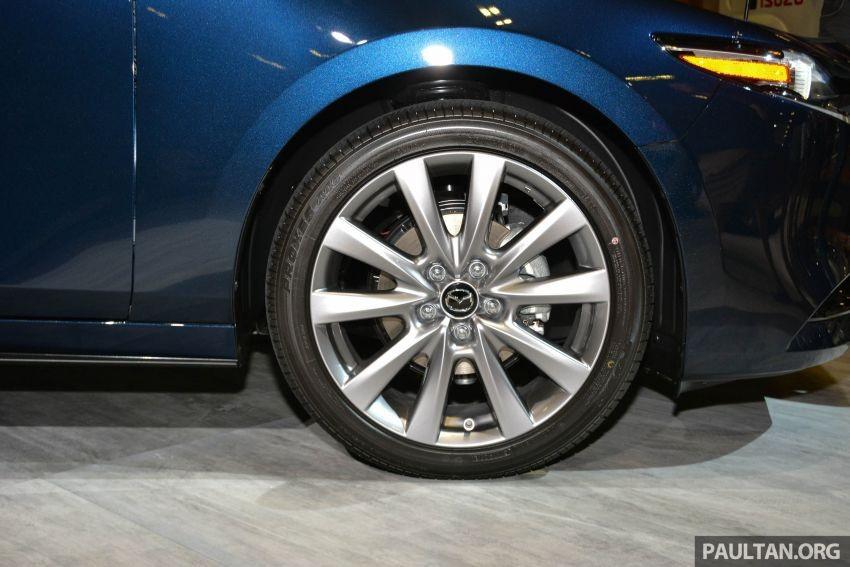 Bộ vành 18 inch của Mazda3 2019