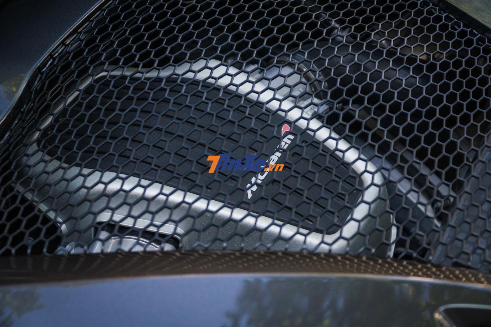 Siêu xe McLaren 570S độ độc nhất Việt Nam vẫn sử dụng động cơ V8, tăng táp kép, dung tích 3,8 lít