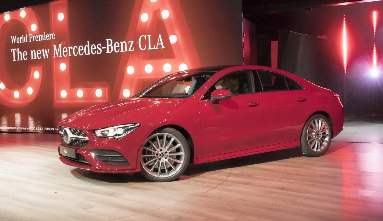 Mercedes CLA Coupe thế hệ mới sẽ rộng hơn so với người tiền nhiệm