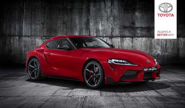 Hình ảnh Toyota Supra 2020 do Toyota Đức cung cấp