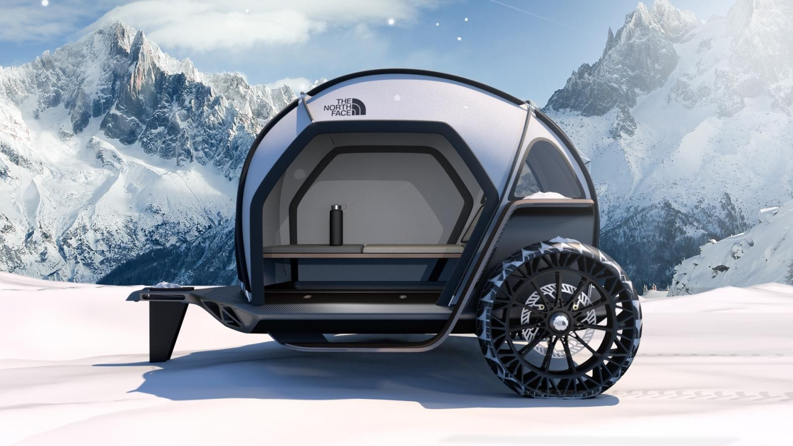 Sản phẩm concept xe cắm trại của Designworks và The North Face