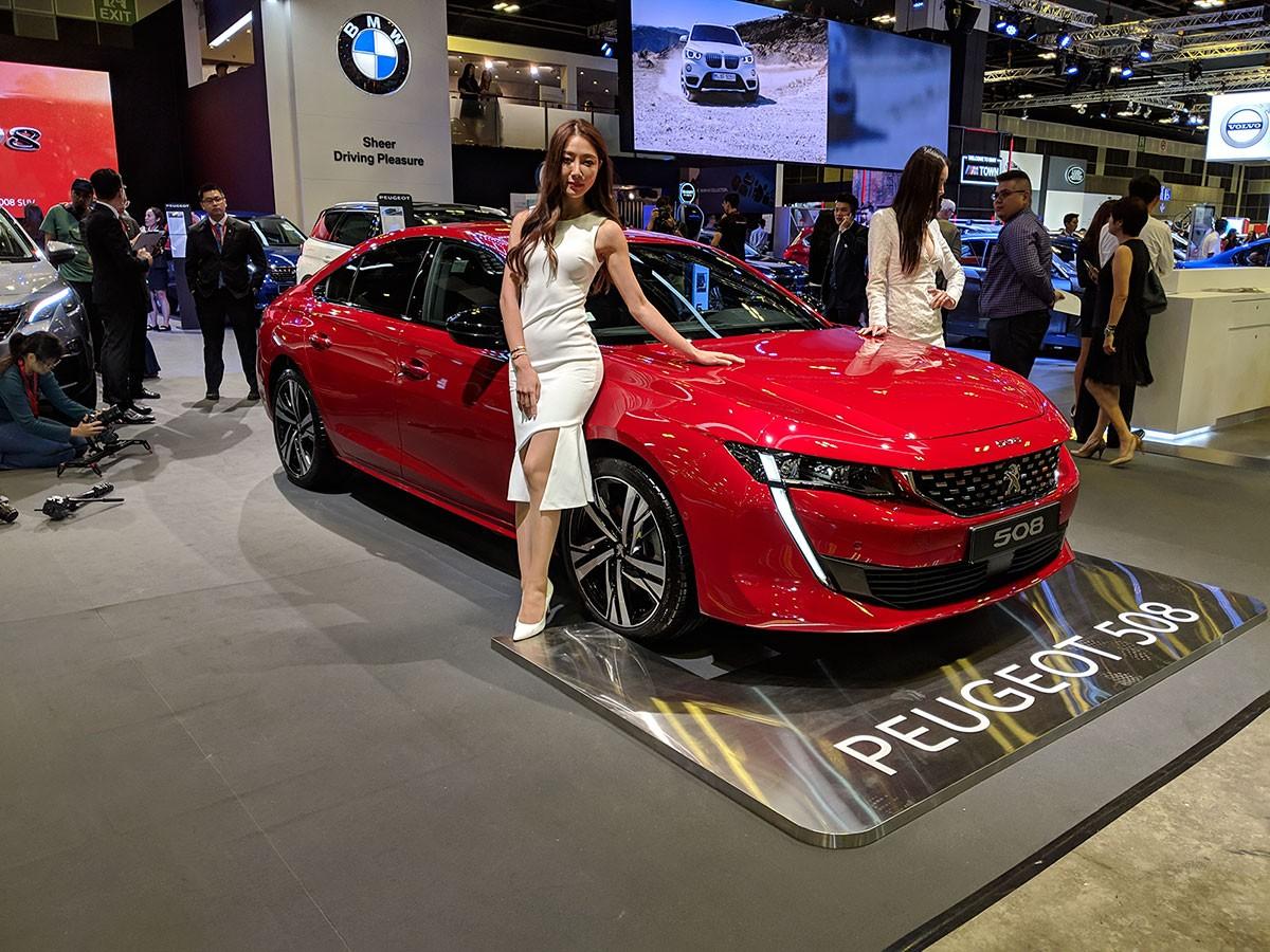 Peugeot 508 2019 ra mắt Đông Nam Á trong triển lãm Singapore Motor Show 2019