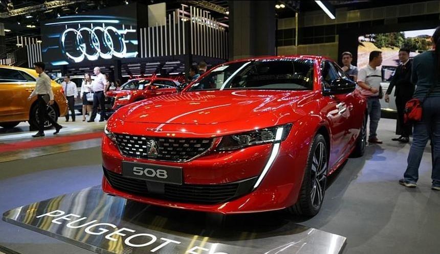Peugeot 508 2019 không chỉ thay đổi kích thước mà còn nhẹ hơn phiên bản cũ