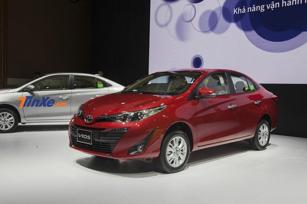 Toyota Vios tiếp tục khẳng định vị trí số 1