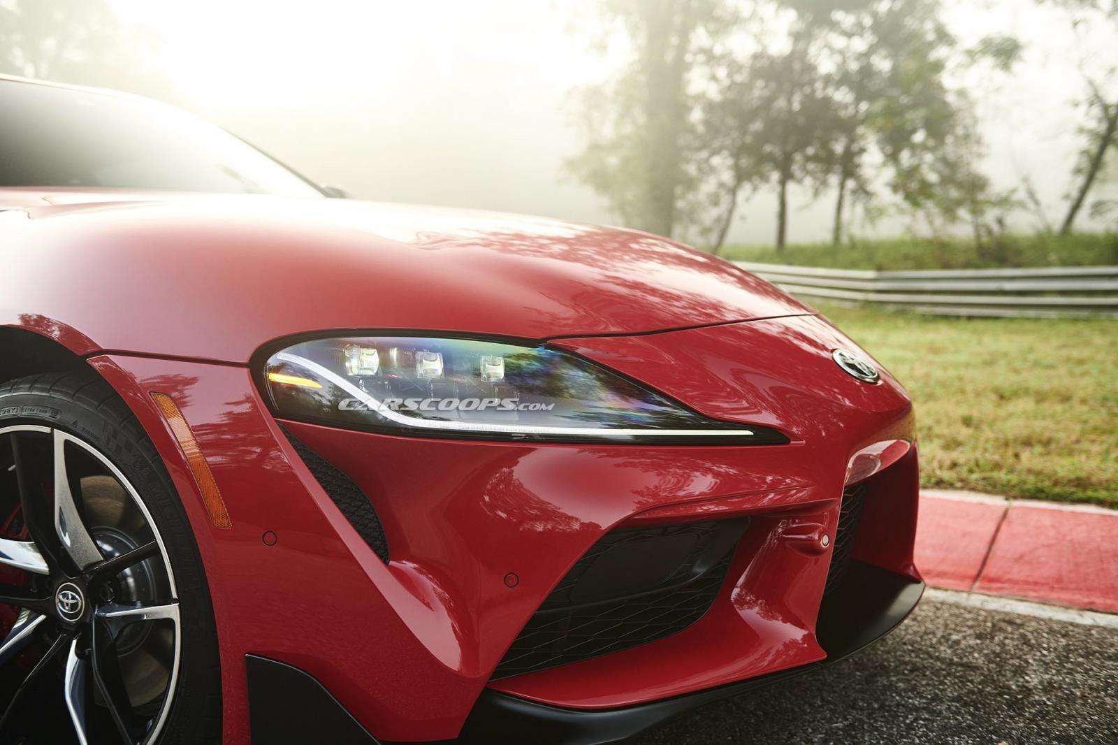 Cụm đèn pha của Toyota Supra 2020