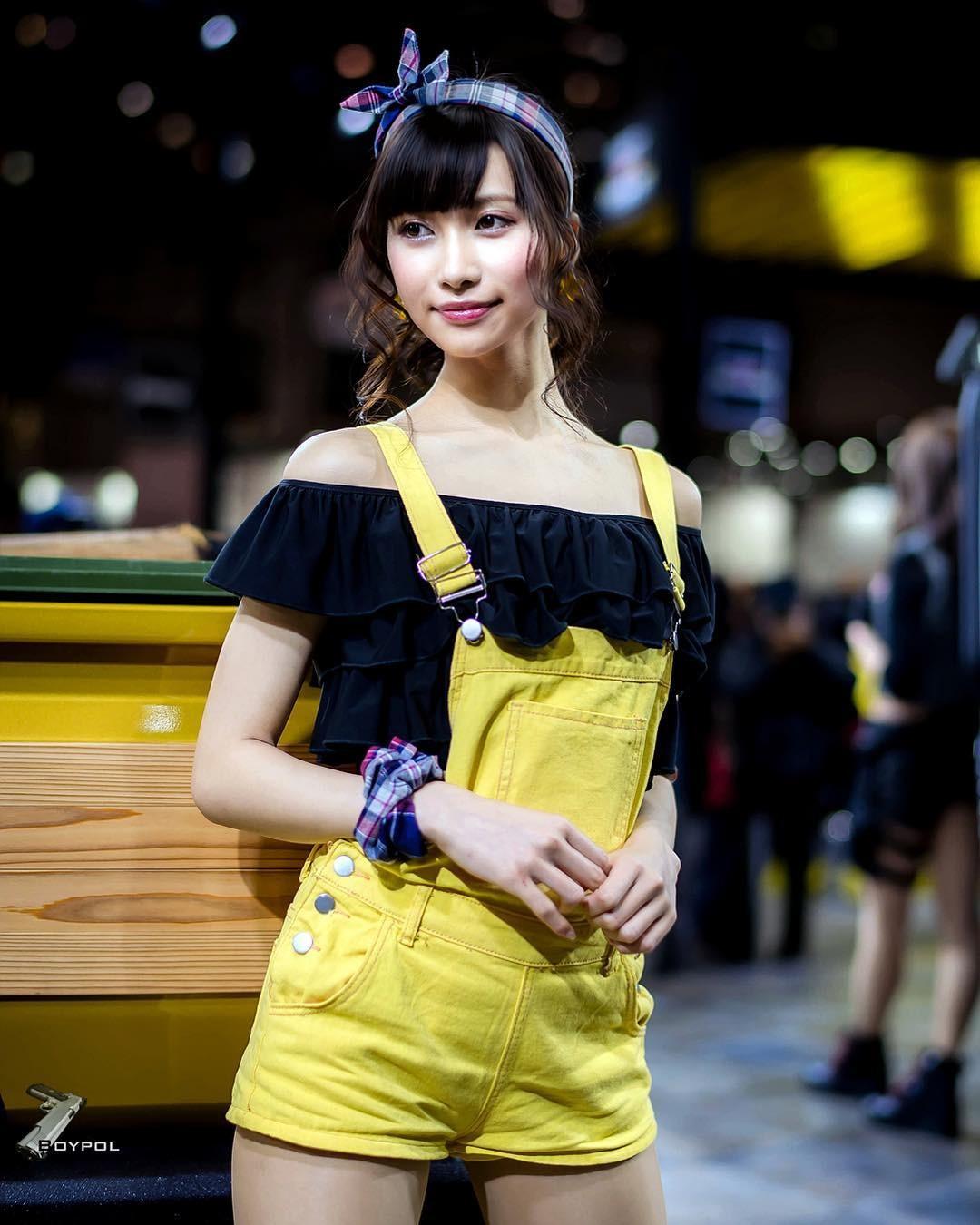 Tan chảy trước nhan sắc của dàn chân dài trong triển lãm Tokyo Auto Salon 2019 - 19