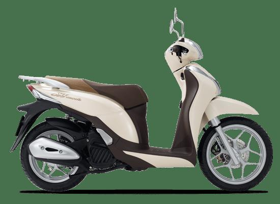 Honda SH Mode màu trắng ngà