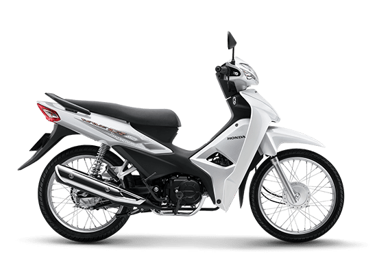 Xe Honda Wave Alpha 110 không có nhiá»u thay đổi vá» thiết kế