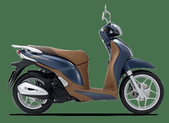 Honda SH Mode màu xanh lam
