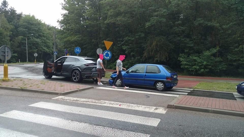 Hiện trường vụ tai nạn của chiếc Lamborghini Urus vào hồi tháng 7 năm ngoái